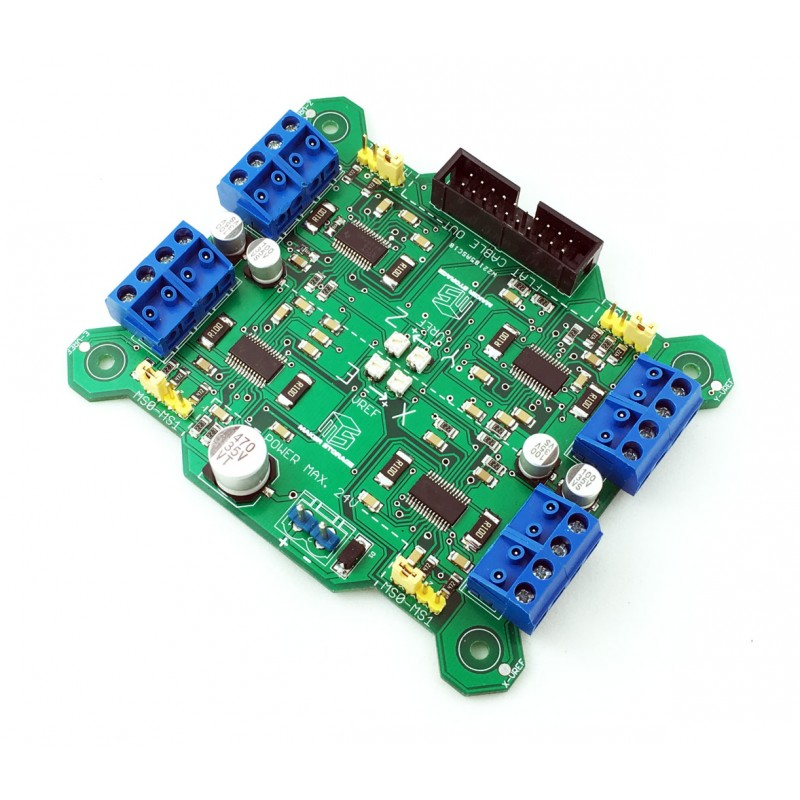 Drv8818 4 axis stepper motor driver board 4 axis stepper motor controller
